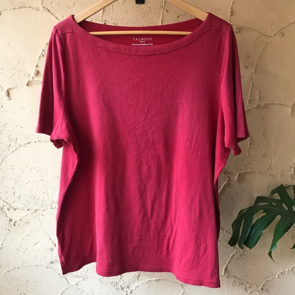 Red Plus Size Weekend Tshirt